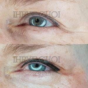 Volle-Eyeliner door Ihrye Choi bij Hulscher Cosmetics