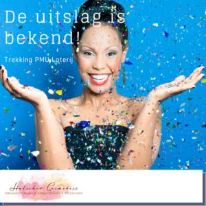 Uitslag loterij Hulscher Cosmetics